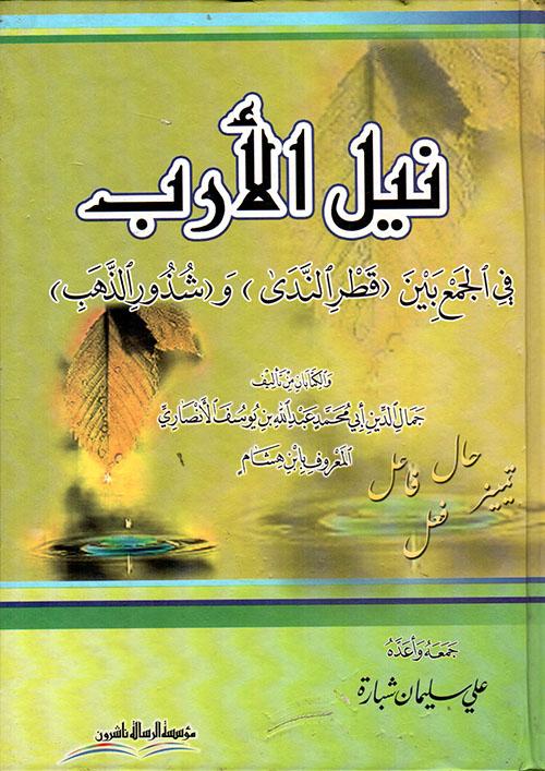 نيل الأرب في الجمع بين (قطر الندى) و(شذور الذهب)