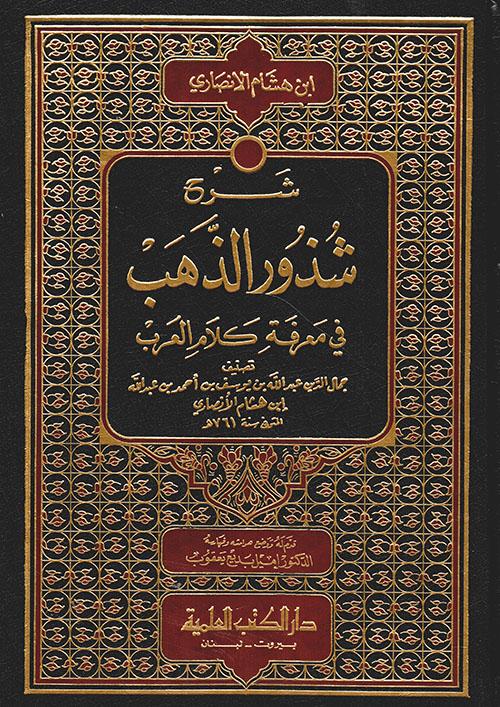 شرح شذور الذهب في معرفة كلام العرب