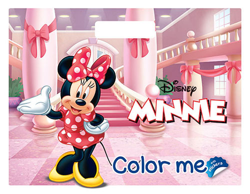 Minnie Color me… with stickers