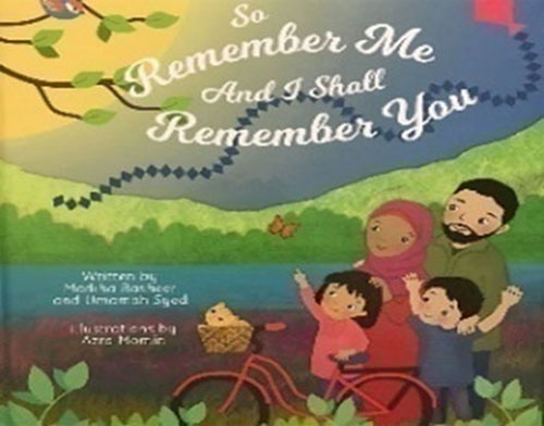 So Remember Me & I shall Remember you