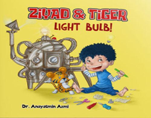 Ziyad and Tiger : Light Bulb!